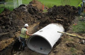 Winona Mechanical underground utilities